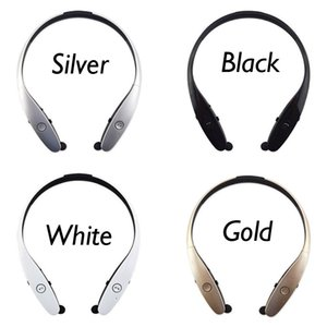 Wholesale Portable Bluetooth Neckband Earphone Headphone Headset for Android iOS mobile phone with mic