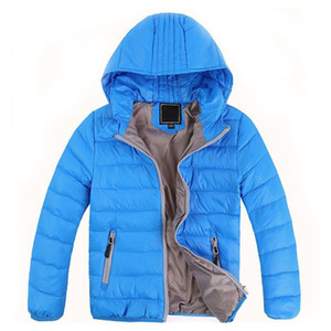Wholesale Wholesale 2017 Children's Outerwear Boy and Girl Winter Warm Hooded Coat Children Cotton-Padded Down Jacket Kid Jackets 3-10 Years