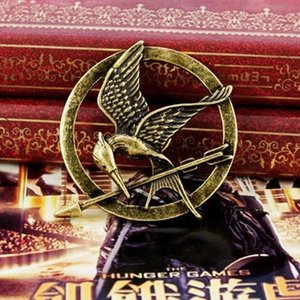 Wholesale Same style in movie The Hunger Games Mockingjay Pins Brooches unisex and high quality