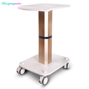Wholesale Brand New Styling Pedestal Rolling Cart ABS For Salon Body Care Beauty Equipment Use Trolley Stand