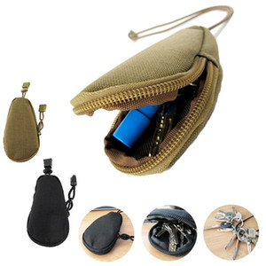 Wholesale edc pocket organizer for sale - Group buy EDC Mini Key Wallets Portable Purses Pouch Pockets Fishing Lures Line Storage Case Outdoor Camping Key bag