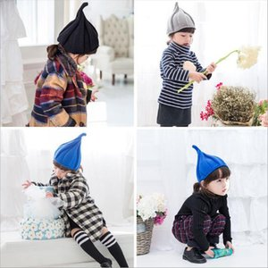 Wholesale Baby Caps Hats For Girls Kids Children Baby Hat Photo Props Beanie Crochet Cap Cotton Winter Children s Cap Christmas Gift