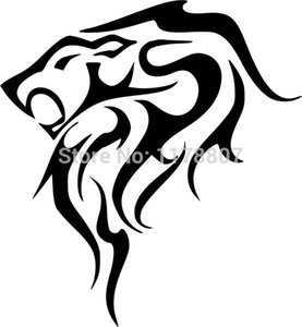 Wholesale 20pcs lot Automobile Motorcycle Vinyl Decal Car Glass window Windshield Bumper Door SUV Auto Stickers Jdm Tiger Flame Graphic