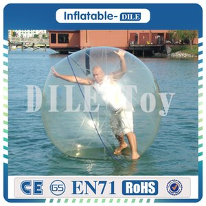 Wholesale m Diameter Inflatable Water Walking Ball Water Balloon Zorb Ball Inflatable Human Hamster Plastic Ball