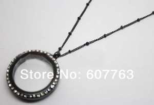 Wholesale 2mm Beads Diamter L Stainless Steel quot Inches Ball Station Locket Curb Chain For Glass Floating Charm Locket