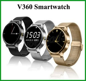 Wholesale Smart Bluetooth Watch V360 Wrist Smartwatch With quot LED Touch Screen Pedometer Siri Function For iOS Android Phone Watch VS Z50
