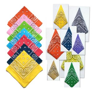 Wholesale 2016 BIGBANG Handkerchiefs cotton bandanas hip hop bandana Paisley print headband hair accessorios para cabelo