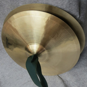 Wholesale 38cm inch Copper Hand Cymbals Gong Band Rhythm Percussion Musical Instrument Toy Copper cymbals band in the cymbals cym