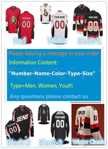 2016 New Custom Ottawa Senators Men & Youth & Women size XXS~6XL goalie cut Premier Alternate Winter Classic Personalize Ice Hockey Jerseys on Sale