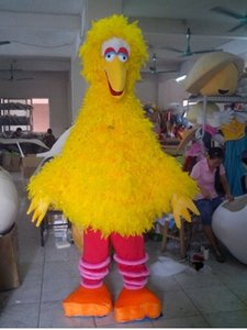 New yellow bird clothing mascot sesame street mascot costume stage performance clothing hairy monster costume ball free shipping