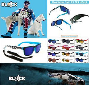 Wholesale Fashion Designer Sunglasses Ken Block American Style Sunglasses Colors Reflective Sports Eyewear Racing Sunglasses For Men