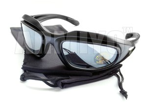 Wholesale armiyo resale online - Armiyo Hunting Sunglasses Desert UV400 Fishing Gear C5 Polarized Protective Windproof Cycling Eyewear Fit Goggles Eye Ctiie