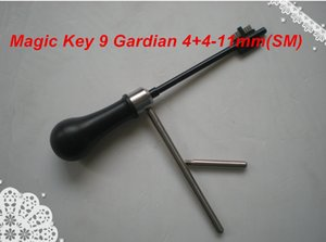 2019 free shipping New Arrival high quality MAGIC KEY 09 for Guardian 4+4, Elbor-Lazurit- 11 mm (SM) decoder and pick tool locksmith tools