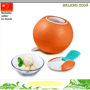 Wholesale New Interesting DIY Ice Cream Maker Lovely SoftShell Ice Cream Ball for kids grade safety Machine