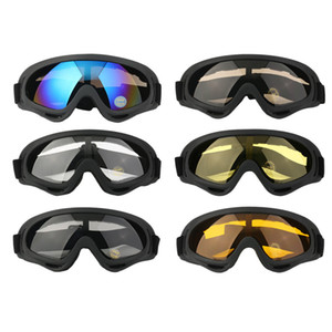 ingrosso sci libero-Bici antipolvere Occhiali da sole Sci Snowboard Atv By Bike Off Road Goggles per adulti Occhiali Occhiali Eyewear Clear Frame Eye Glasses Vendita calda