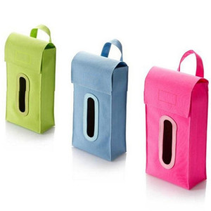 dispensador de cajas de pañuelos al por mayor-Al por mayor Colgante Cuboid Dispensador de la Caja de Pañuelos Sólidos Car Home Room Facial Napkin Box Cover smt