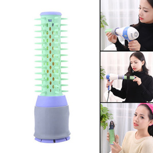 2017 New Protective Curly Hair Comb Radial Round Brush Plastic Anti-static Hairdressing Maker Comb For Salon Home