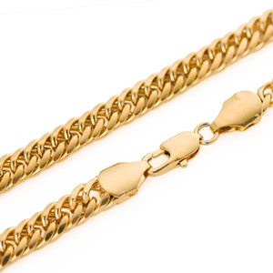 Wholesale The classic Chinese style gold filled snake bone necklace k gold plated chain whip neutral men and women Christmas gift