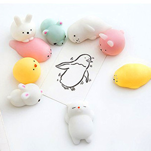Squishy Slow Rising Jumbo Toy Bun Toys Animals Cute Kawaii Squeeze Cartoon Toy Mini Squishies Cat Squishiy Fashion Rare Animal Gifts Charms on Sale