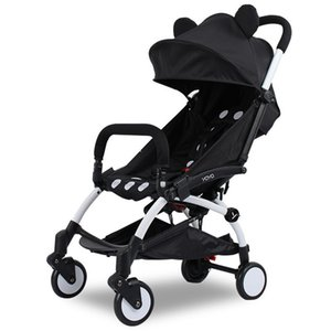 Wholesale new collapsible baby stroller months stroller Inflatable Natural Rubber Wheels Four Wheel