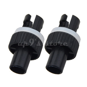 adaptador de bomba de ar venda por atacado-4PCS Inflatable Kayak Boat Air Bomba de pé da HR Hose Adapter HR Adapter Válvula