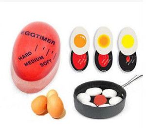 huevo de cocina perfecto al por mayor-Egg Timer Egg Perfect Color Changing Perfect Boiled Eggs Cooking Helper Cambio de temporizador Yummy Soft Hard Boiled Eggs Cooking Kitchen