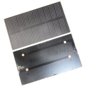 1W 5V Mini Solar Cell Module Monocrystalline PET Solar Panel DIY Solar Charger System For 3.7v Battery 107*61*2MM 2PCS LotFree Shipping