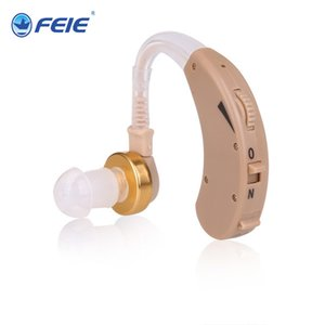 Wholesale 2019 new design hidden hearing aids behind the ear Listening Device Clear Sound with Long Battery Life Volume Control drop shipping S-138