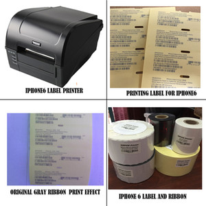 Professional New Phone Box Label Sticker bacode printer solution for iPhone 4 4S 5 5S 5C 6 6 Plus 6S 6S Plus 7 7+ 8 8+ X