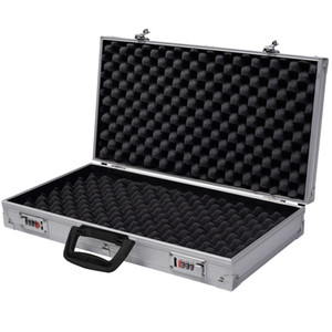 Wholesale Aluminum New Framed Locking Gun Pistol HandGun Lock Box Hard Storage Carry Case