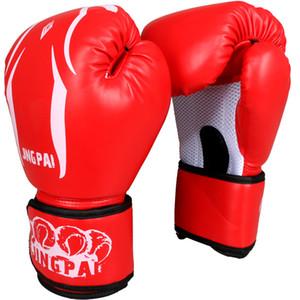 New Pu Leather Adult Male Female Men Women Punch Sandbag Fighting Boxing Gloves Luvas De Boxe Muay Thai Mma Glove 28 *16cm