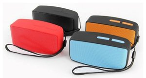 Wholesale Mini Bluetooth Speaker with Volume Control Handsfree Support TF Card FM bluetooth Loud speaker N10 With Colors