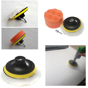 Wholesale buffer pads for sale - Group buy Worldwide set inch Buffing Pad Auto Car Polishing sponge Wheel Kit With M10 Drill Adapter Buffer