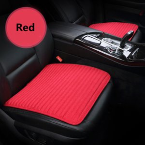 Wholesale Car seat cushion Seasons Flax Eco Friendly Auto Interior Accessories Soft Red Car Seat Cover For Front Seats