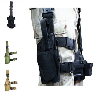 Wholesale Multi Function Color Camo Waist Style Drop Leg Bag Motorcycle Dirt Bike Cycling Thigh Bum Pack Support FBA Package Hiking E600E