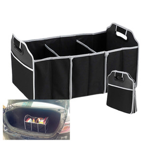 Wholesale Foldable Car Organizer Boot Stuff Food Storage Bags Bag Case Box trunk organiser Automobile Stowing Tidying Interior Accessories Collapsible