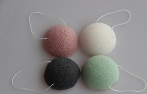 Konjac Sponge Puff Herbal Facial Sponges Pure Natural Konjac Vegetable Fiber Making Cleansing Tools For Face And Body