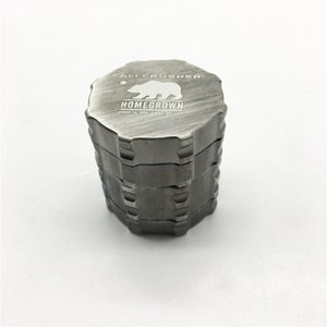 Wholesale Cali Crusher Grinder mm Aircraft Aluminum Herb Grinder Layers Provide Best Touch And Texture VS Lighting Grinder