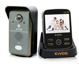 Wholesale KIVOS KDB302A Wireless Intercom Video Door Bell Phone Home Security System