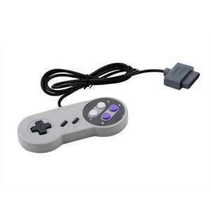 Wholesale-1pcs 16 Bit Controller for Super for SNES NES System Console Control Pad free shipping on Sale