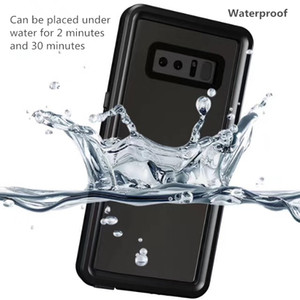 Wholesale Full Body Protected Waterproof Phone Case Sealed Shockproof Cover For Galaxy S10 G S10e Note S8 PLUS S9 iPhone Pro MAX XS XR mm