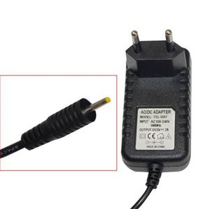 Wholesale DC V A mah AC Power Adapter Wall Charger For Android Tablet PC With Round mm Jack US EU Plug
