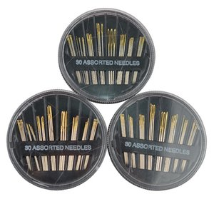 Metal Needle 30 Pcs In One Set Multi Function Craft Tools Stainless Steel Needles Combination Manual Disc 1 4zw J R