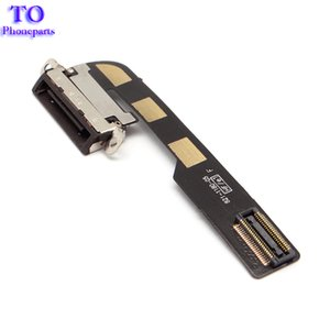 Wholesale 50PCS Charging Dock Port Flex Cable Ribbon IPAD2 Dock Connector Charge Flat Charger Flaxy For IPhone ipad2 IPAD