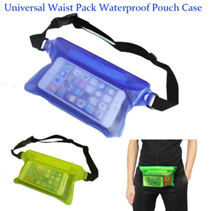 Wholesale For Universal Waist Pack Waterproof Pouch Case Water Proof Bag Underwater Dry Pocket Cover For Cellphone mobile phone Samsung iphone SCA160