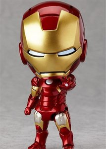 Wholesale Marvel Avengers Cute Iron Man Fascinating Superhero Action Figures PVC Doll Anime Toys American Cartoon Spinder Man Doll Toys