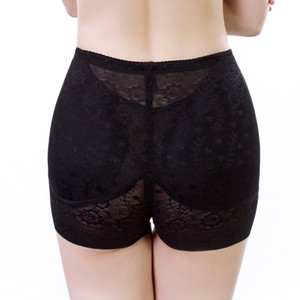 Wholesale Breathable women Butt Lifter Slimming Spot Underwear Sexy boxer lace push up hip plus size Padded hot shapers Control Panties