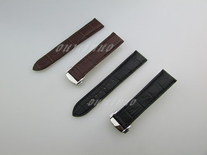20mm or 22mm New High quality Black And Brown Genuine Leather Watch Bands strap For Omega Watch