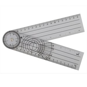 Professional Multi-Ruler 360 Degree Goniometer Angle Medical Spinal Ruler on Sale