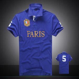 Wholesale-2016 Summer Hot Sale Polo Shirt USA American Flag Brand Polos Men Short Sleeve Sport Polo 309# Man Coat Drop Free Shipping